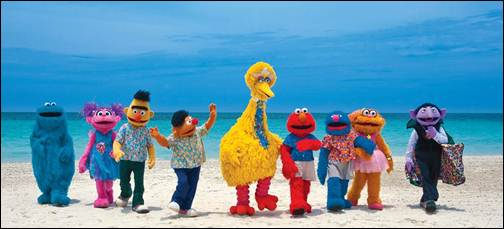 Beaches Sesame Street