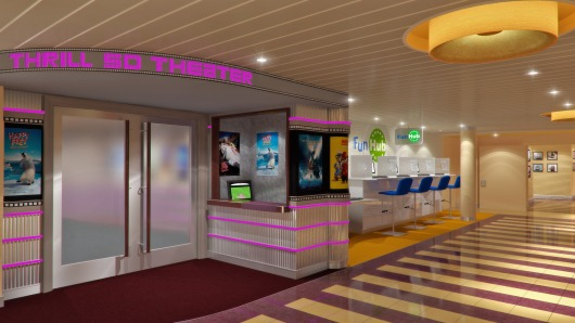 Carnival Breeze 5D Theater