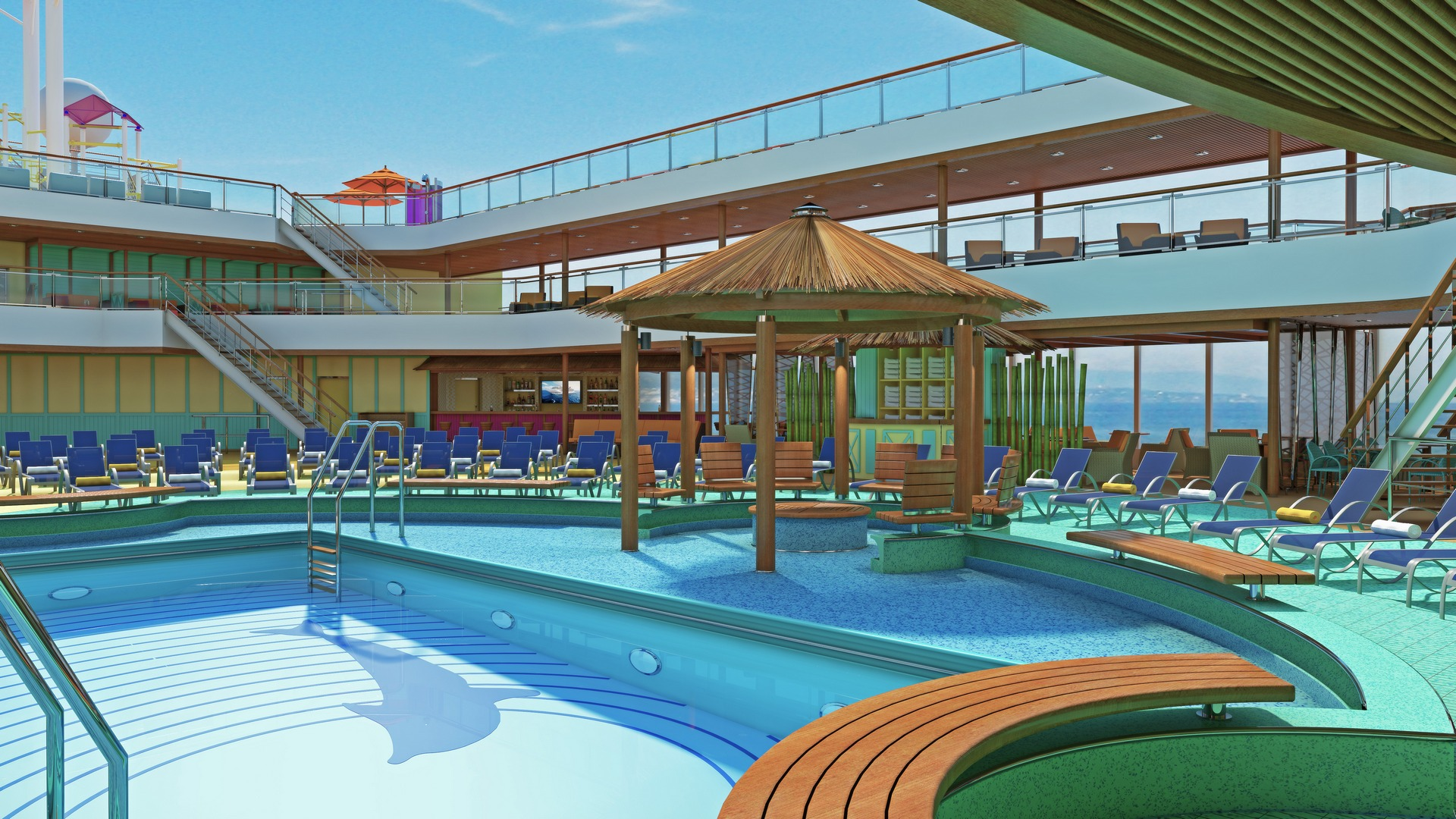 New Carnival Breeze To Debut Sushi Restaurant, Outdoor BBQ