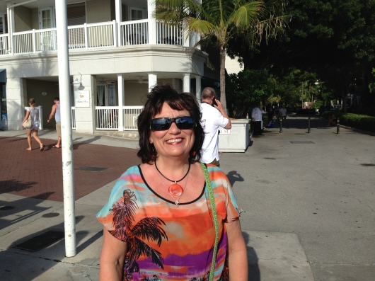 Getting ready to board for our sunset cruise with Danger Charters, Key West