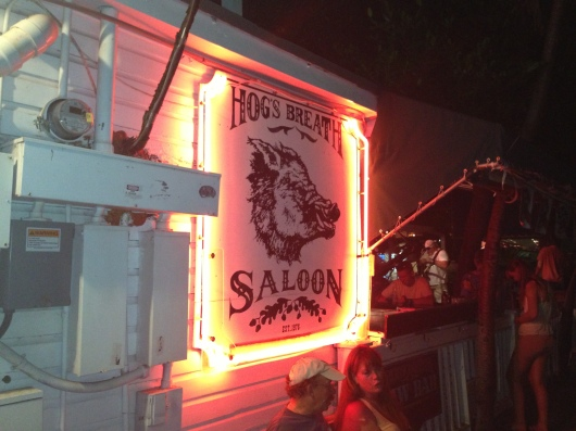 Hog's Breath Saloon, Key West