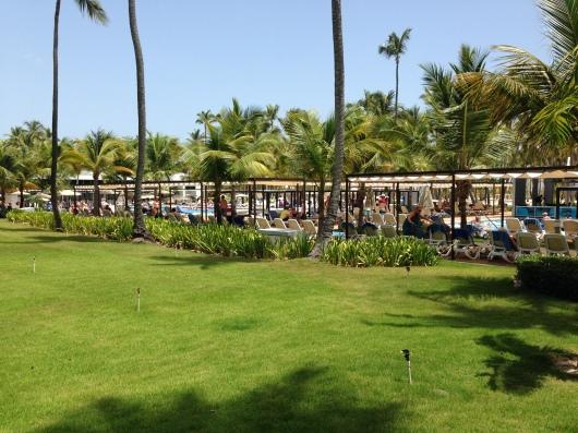 Riu Palace Macao Punta Cana grounds view