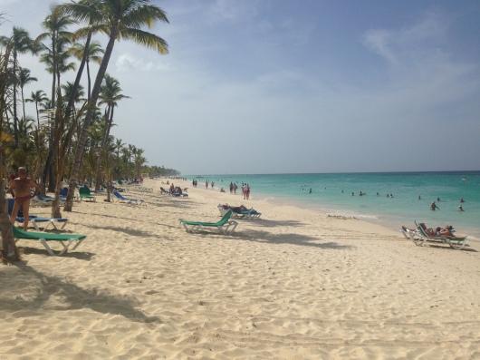 Riu Palace Macao Punta Cana beach view