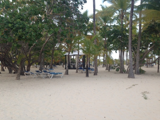 Riu Palace Macao Punta Cana beach massage cabana